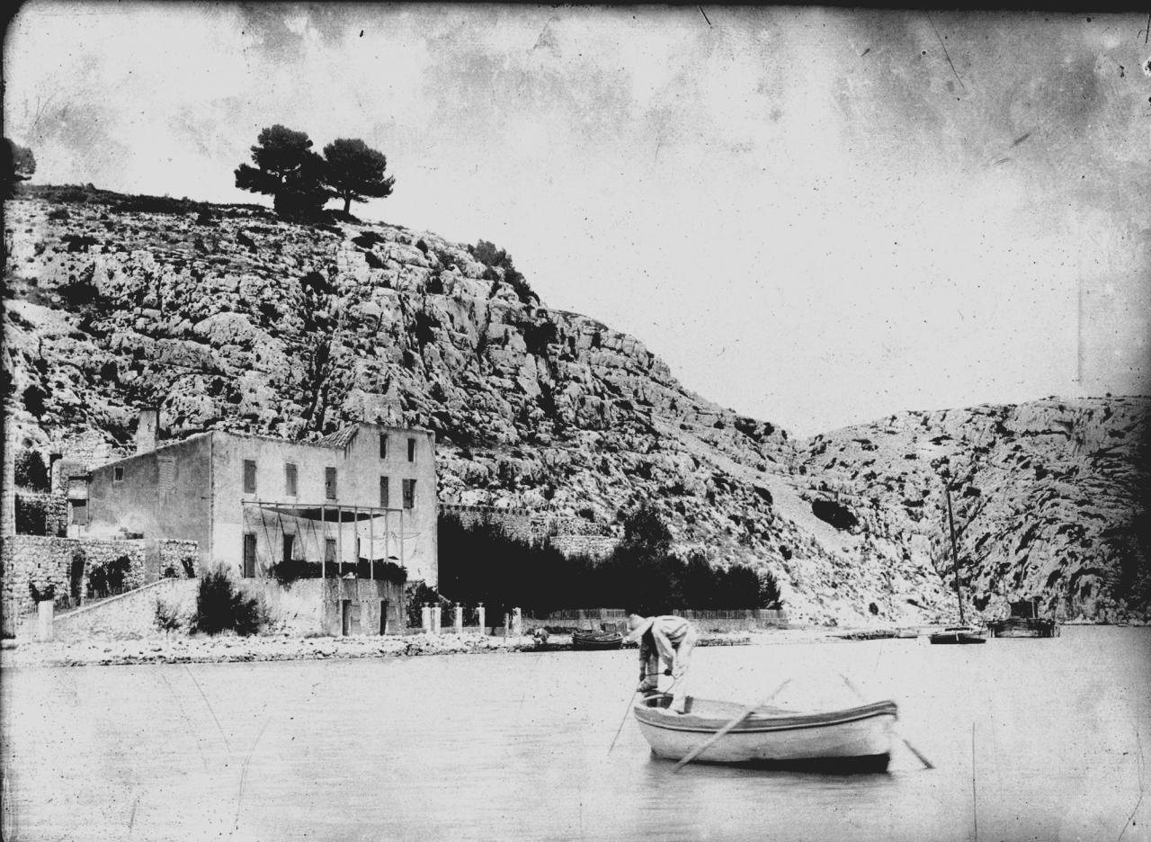 Port-Miou et son Chateau,état primitif