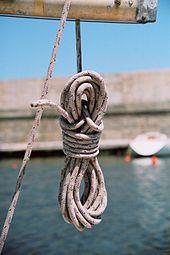 Quel terme utilise-t-on pour désigner tout cordage n'ayant pas de nom propre ?