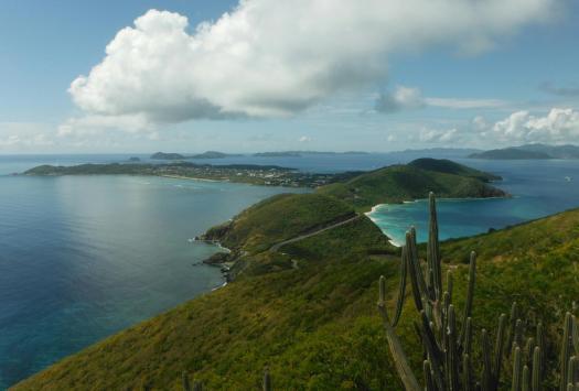 Virgin Island vue de haut !!!