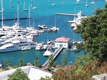 Marina Fort Louis. Saint-Martin