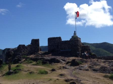 Fort Louis. Saint-Martin