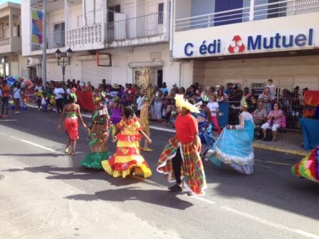 Carnaval des enfants. Marigot