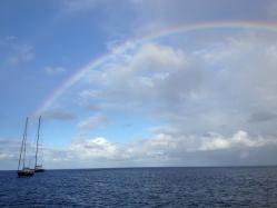 Baie de MALENDURE - Arc en Ciel