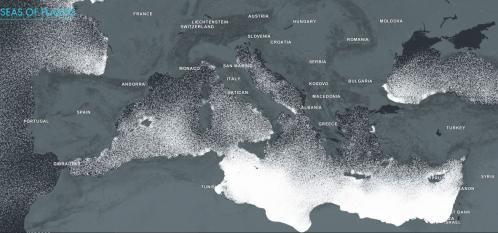 Mer et plastiques en méditerranée