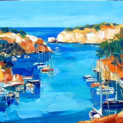 Port-Miou Peintures