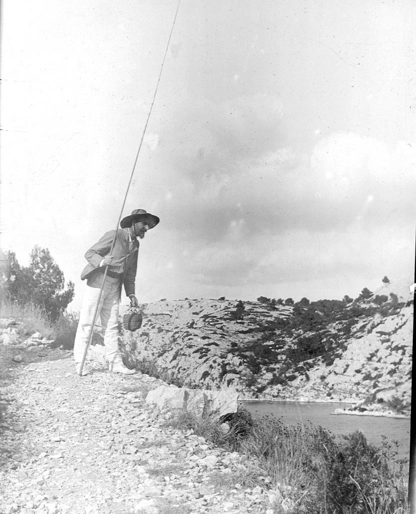 Henri pécheur à Port-Miou