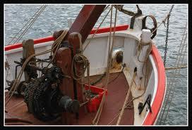 Comment s'appelle le treuil à axe horizontal utilisé sur les navires pour relever l'ancre ?